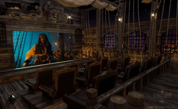 سینمای خانگی طرح دزدان دریایی