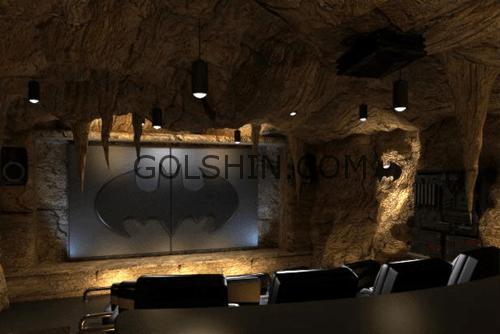 سینمای خانگی طرح غار خفاش